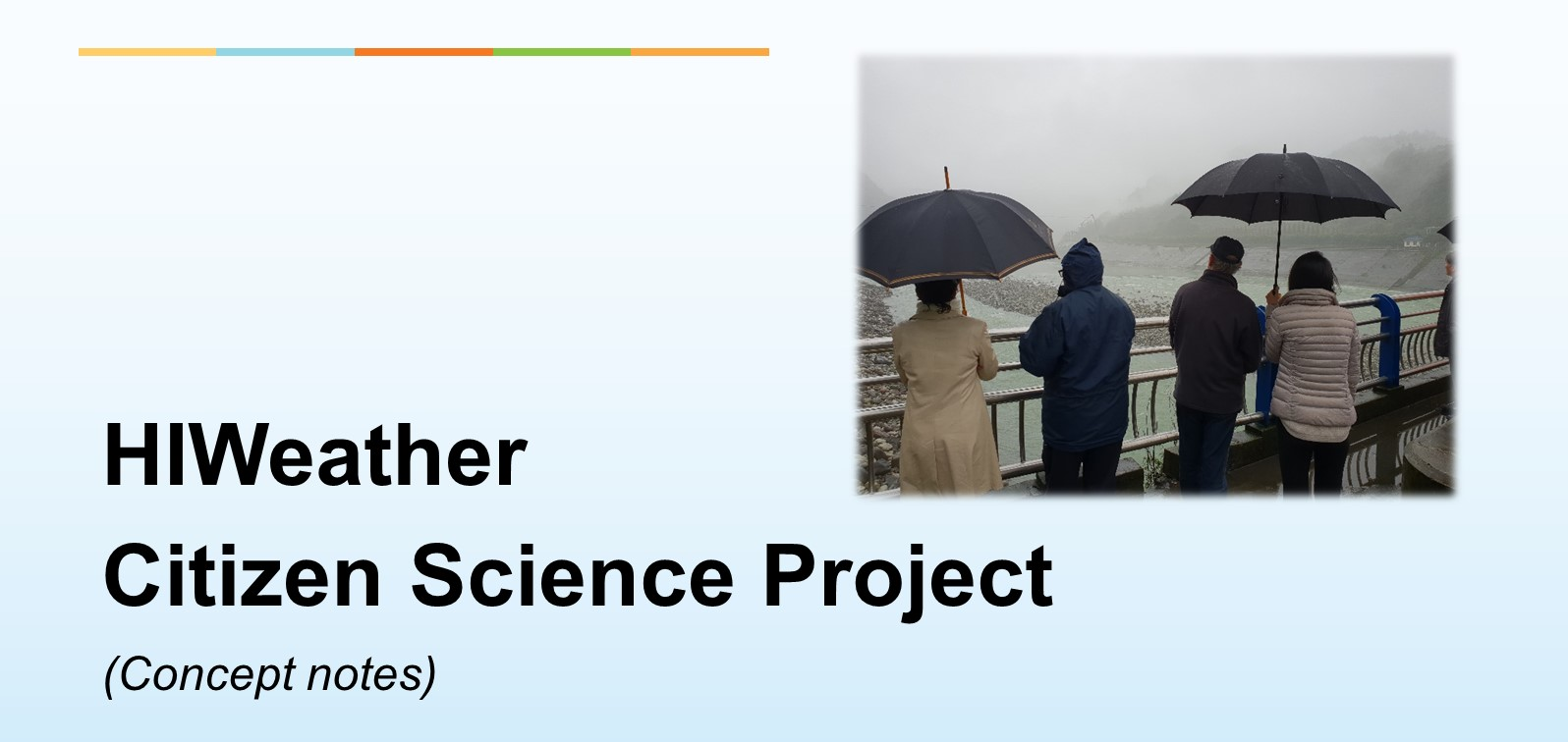 HIWeather Citizen Science Project